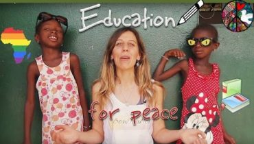 Education for peace…el futur està a l'Àfrica.