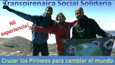 Cruzar los Pirineos por un mundo mejor: Transpirenaica Social Solidaria.