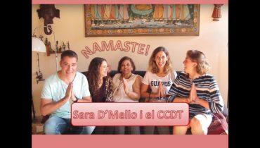 INCREIBLE!!! CONVERSES AMB SARA D'MELLO