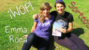 Emma Roca con el running solidario: iWOPI