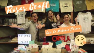 👉 Evento con Rosas Crafts y… la Materia Prima! 🌹  – BonDiaMon